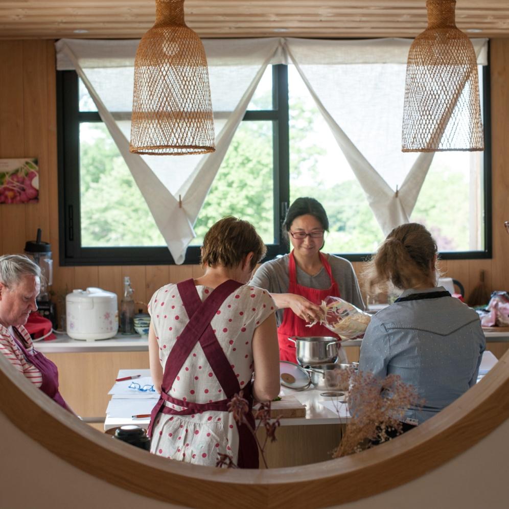 atelier cuisine Japonaise Bourg des Comptes